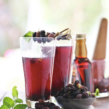 Mulberry Lime Cooler Recipe   SideChef