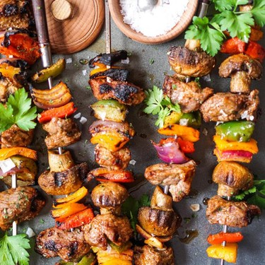 Grilled Lamb Shish Kebobs Recipe | SideChef