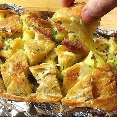 Cheesy Garlic Pull Apart Bread Recipe | SideChef
