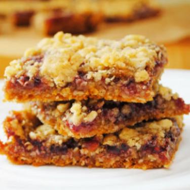 Raspberry Oat Bars Recipe | SideChef