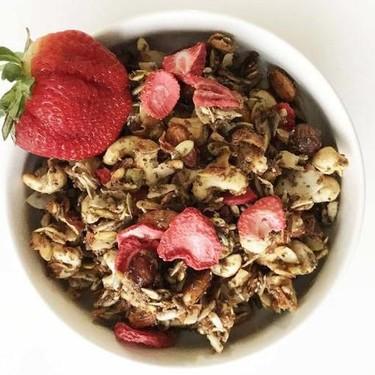 Strawberry Grain-Free Granola Recipe | SideChef