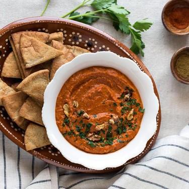 Roasted Red Pepper and Walnut Dip Recipe | SideChef