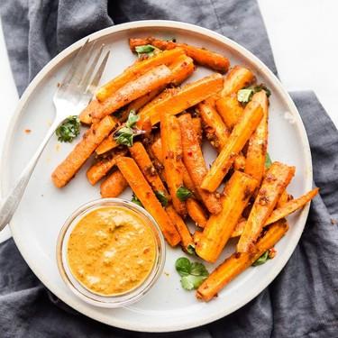 Peri Peri Oven Baked Carrot Fries Recipe | SideChef