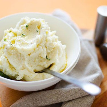 Brown Butter and Sage Fluffy Mashed Cauliflower Recipe | SideChef
