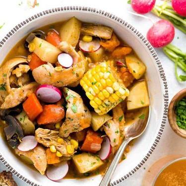 Beer-Braised Chicken Stew With Vegetables Recipe   SideChef
