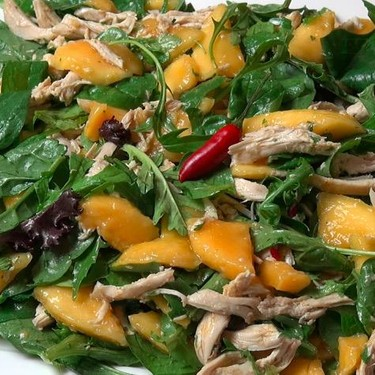 Mango Chicken Salad Recipe | SideChef