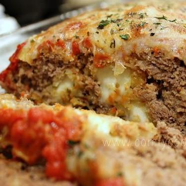 Stuffed Pizza Meatloaf Recipe | SideChef