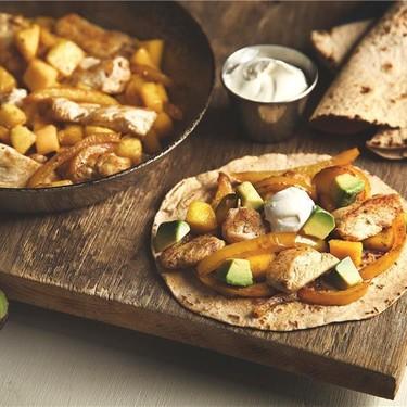 Chicken Mango Fajitas Recipe   SideChef