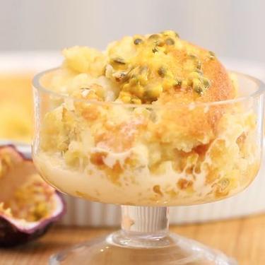 Passionfruit Self-Saucing Cake Recipe | SideChef
