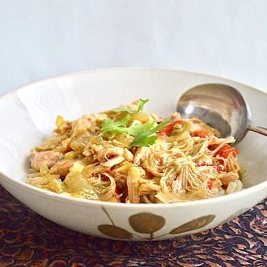 Slow Cooker Chicken Verde Bowls Recipe   SideChef