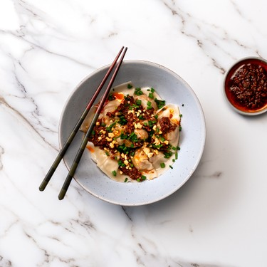 Cantonese-Style Wontons with Sichuan Chili Oil Recipe   SideChef