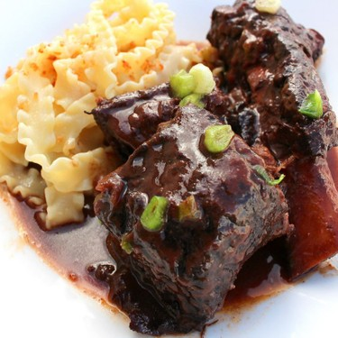 Beef Ribs Braised with Blueberries Recipe   SideChef