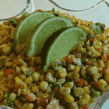 Tex-Mex Toasted Corn Salad Recipe | SideChef