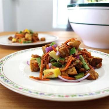 Customizable Panzanella Salad Recipe | SideChef