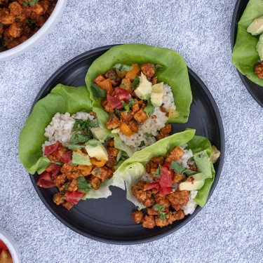 Coconut Curry Tempeh Lettuce Cups with Sticky Rice Recipe   SideChef