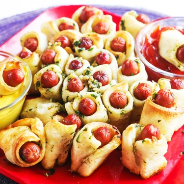 Pull Apart Pigs in a Blanket Recipe   SideChef