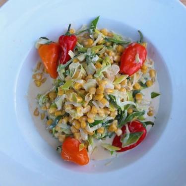 Braised Shrimp, Leek, Corn And Chillies Recipe   SideChef