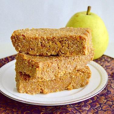 Pear Apricot Snack Bars Recipe   SideChef