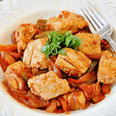 The Ultimate Spanish Tuna with Peppers and Onions Recipe   SideChef