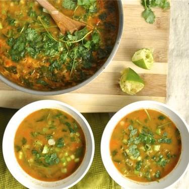Curried Lentil Soup Recipe   SideChef
