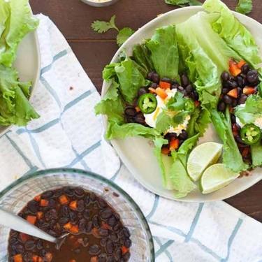 Microwave Spicy Black Bean Taco Wraps Recipe | SideChef
