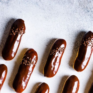 Classic Eclairs with Vanilla Pastry Cream Recipe   SideChef