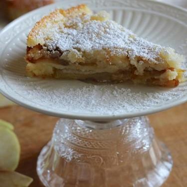 French Apple Custard Cake Recipe | SideChef