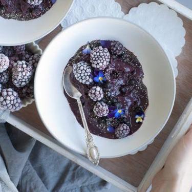 Blackberry Smoothie Bowl Recipe | SideChef