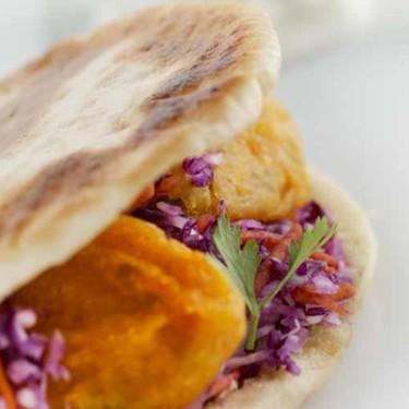Sweet Potato Falafal with Coleslaw Recipe | SideChef