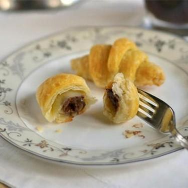 Two-Ingredient Mini Nutella Croissants Recipe   SideChef