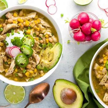 Easy White Bean Chicken Chili Recipe | SideChef