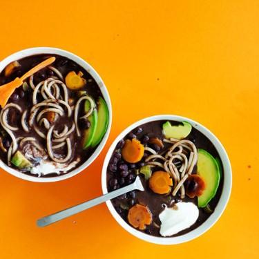 Black Bean Boo-dle Soup Recipe | SideChef