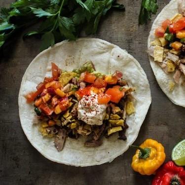 Crispy Lemongrass Chicken Tacos Recipe | SideChef