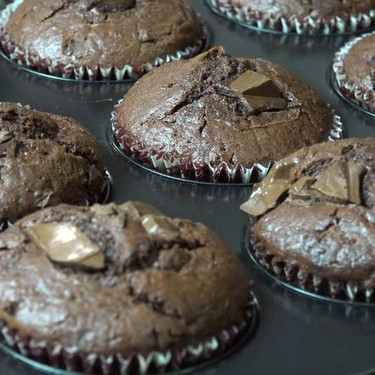 Best Ever Chocolate Muffins Recipe | SideChef