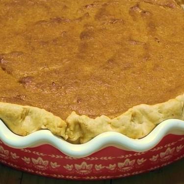 Classic Deep Dish Sweet Potato Pie Recipe | SideChef