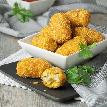 Mexican Jalapeno Cheddar Croquettes Recipe   SideChef