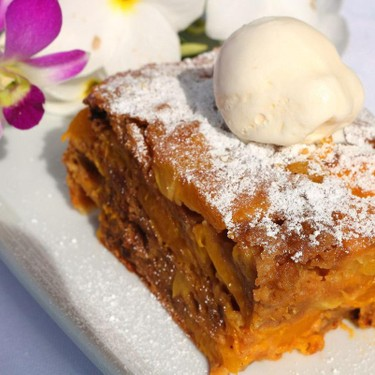 Mango, Pineapple and Chocolate Chip Cake Recipe | SideChef