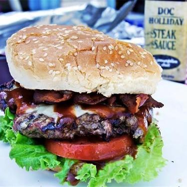 Grilled Steakhouse Burger Recipe | SideChef