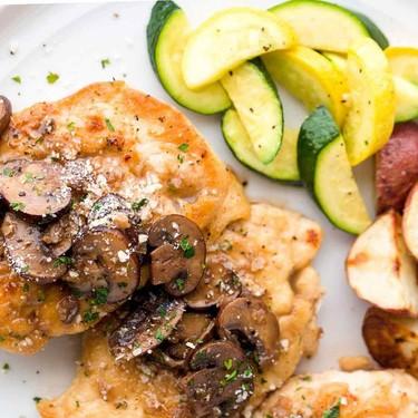 Chicken Marsala with Mushrooms Recipe   SideChef