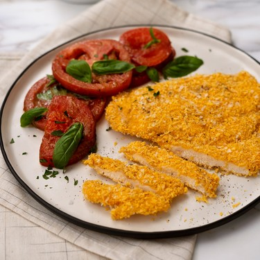 Chicken Parmesan with Miso Balsamic Salad Recipe   SideChef
