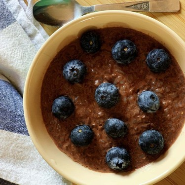 Chocolate Konjac Rice Porridge Recipe | SideChef