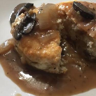 Brown Mushroom and Onion Gravy Recipe   SideChef