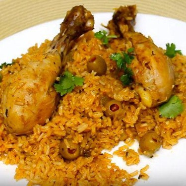 Dominican-Style Chicken and Rice Recipe   SideChef