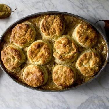 Breakfast Sausage Biscuit Gravy Casserole Recipe | SideChef
