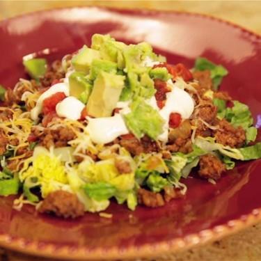 Ground Beef Taco Salad Recipe | SideChef