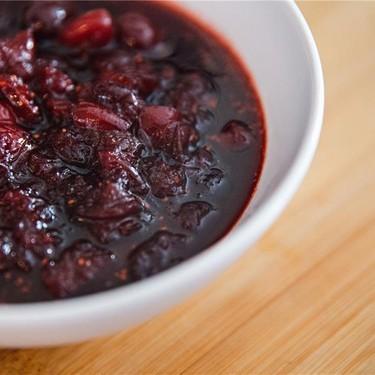 3 Ingredient Cranberry Sauce Recipe | SideChef