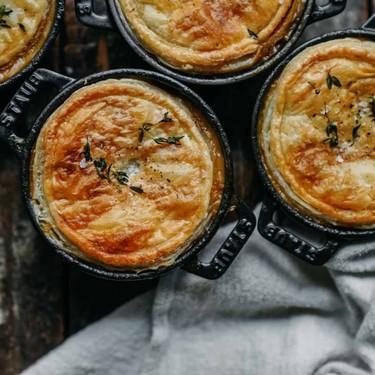 Vegan Cream of Mushroom Pot Pie Recipe | SideChef