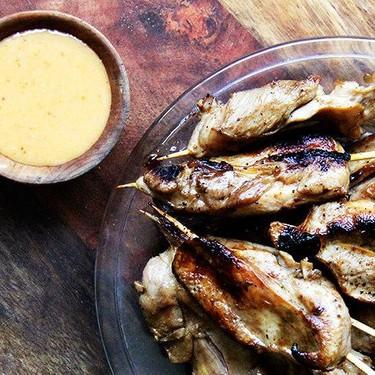 Chicken Satay with All-Purpose Thai Peanut Sauce Recipe   SideChef