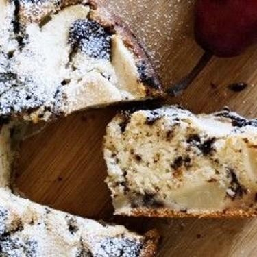 Dairy-Free Pear Chocolate Cake Recipe   SideChef