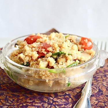 Italian Quinoa Salad Recipe   SideChef